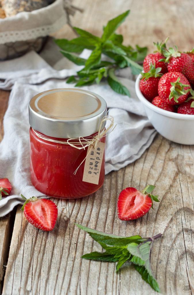 Erdbeer-Minze-Marmelade - Rezept - Sweets & Lifestyle®