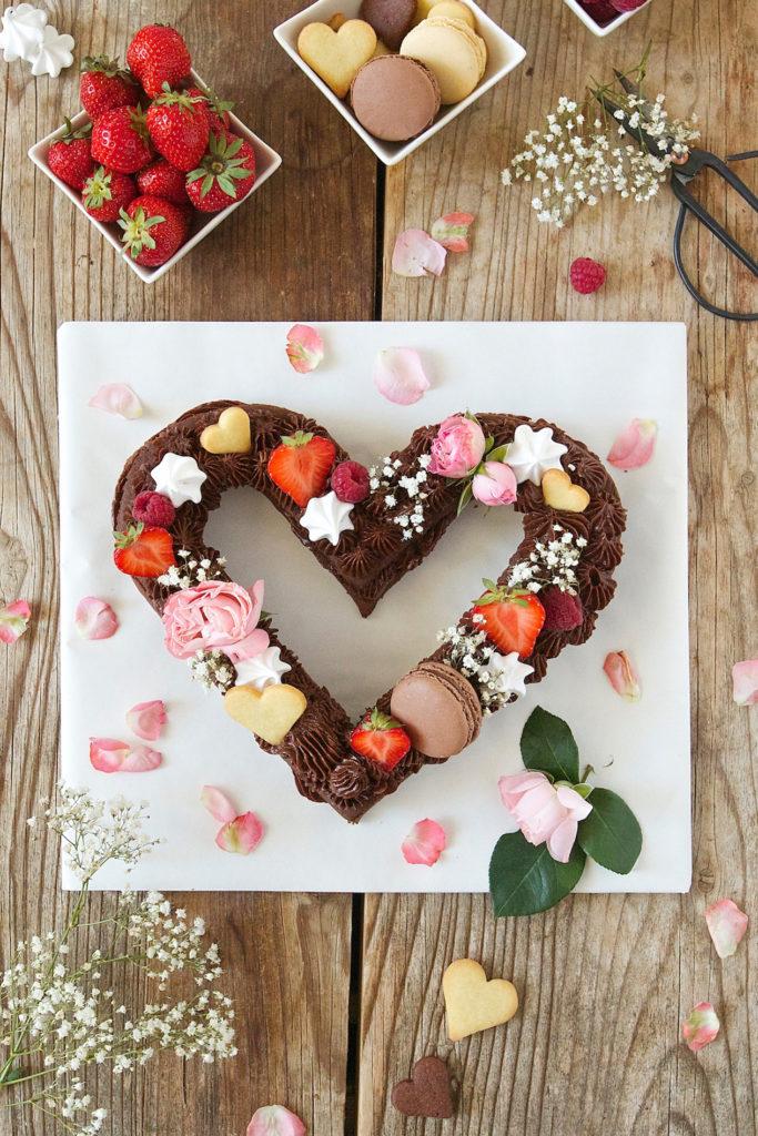 Herz Cream Tarte Rezept fuer den Valentinstag von Sweets & Lifestyle®