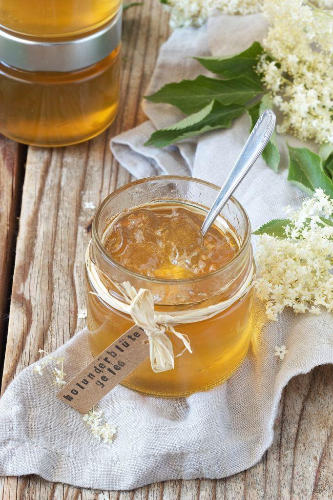 Holunderblütengelee aus Apfelsaft von Sweets & Lifestyle®
