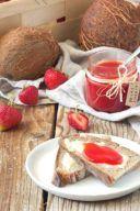Rezept für eine Erdbeer Kokos Marmelade von Sweets & Lifestyle®