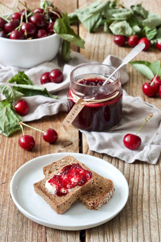 Fruchtige Kirschmarmelade nach einem Rezept von Sweets & Lifestyle®