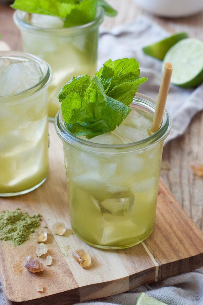 Grüner Eistee mit Limetten nach einem Rezept von Sweets & Lifestyle®