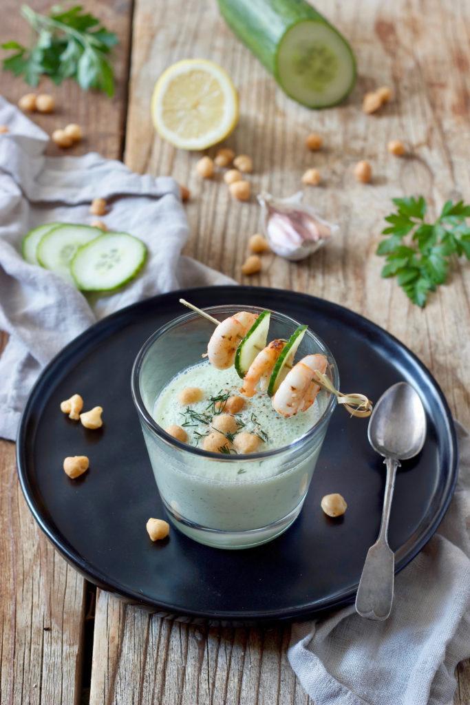 Kalte Gurkensuppe mit Joghurt und Dille von Sweets & Lifestyle®