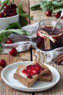 Leckere Kirschmarmelade mit Zimt nach einem Rezept von Sweets & Lifestyle®