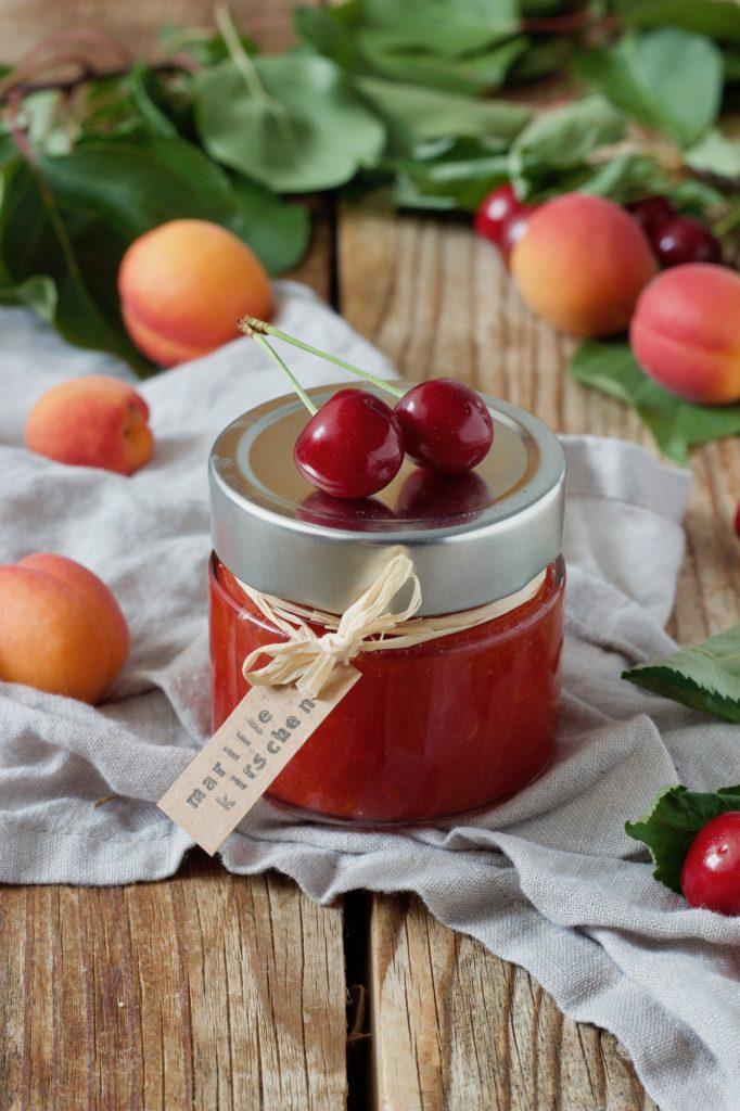 Marillen Kirschen Marmelade nach einem Rezept von Sweets & Lifestyle®