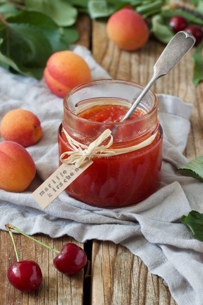 Marillen Kirschen Marmelade Rezept von Sweets & Lifestyle®