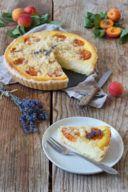 Marillentarte mit Ricotta und Lavendel nach einem Rezept von Sweets & Lifestyle®
