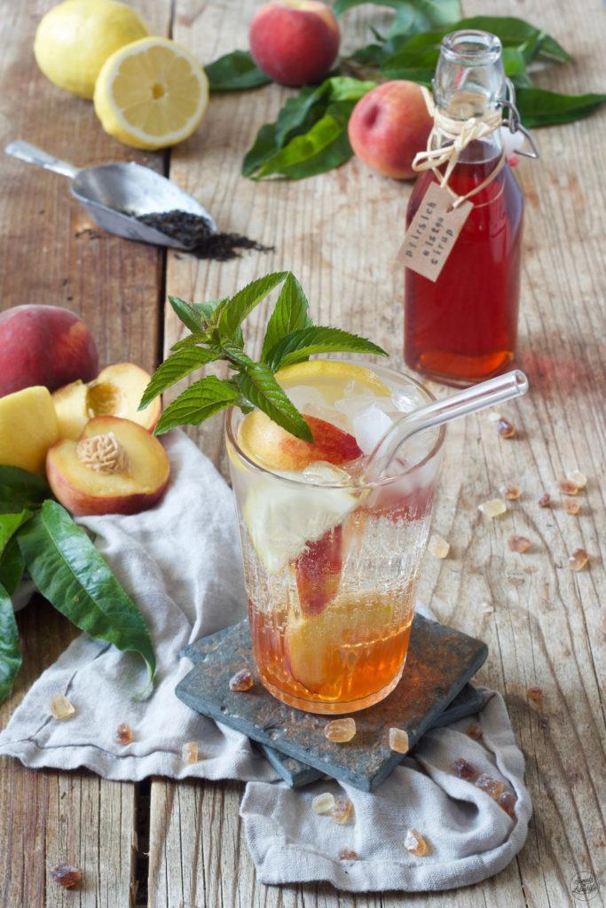 Pfirsich Eistee Konzentrat nach dem Rezept von Sweets & Lifestyle®