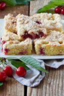 Rezept für einen Kirschkuchen mit Streusel von Sweets & Lifestyle®