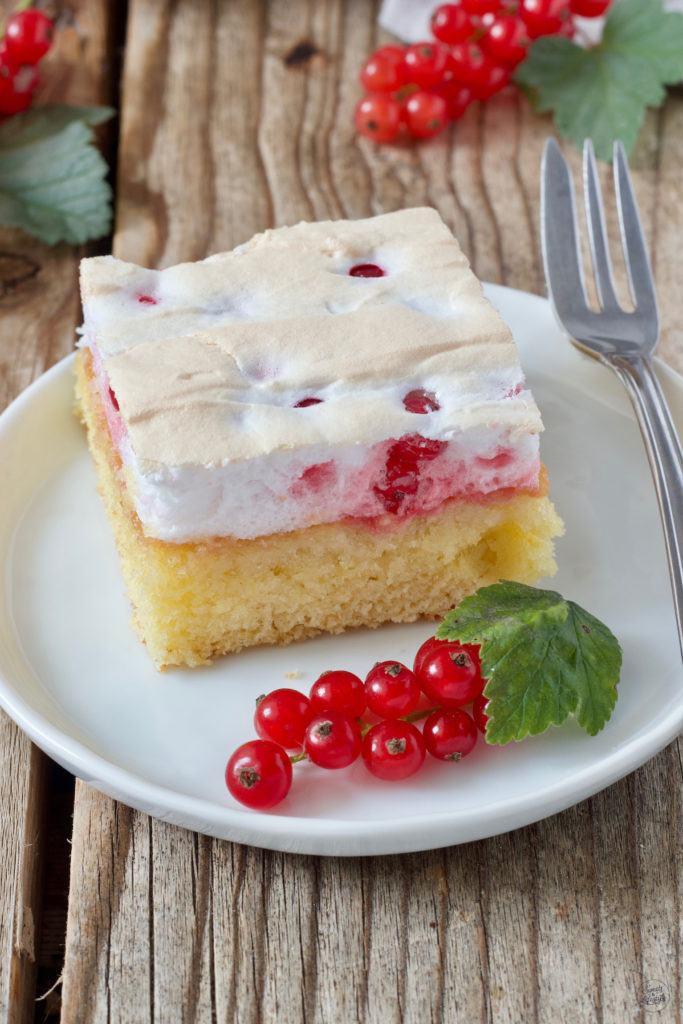 Ribiselkuchen mit Schneehaube nach einem Rezept von Sweets & Lifestyle®