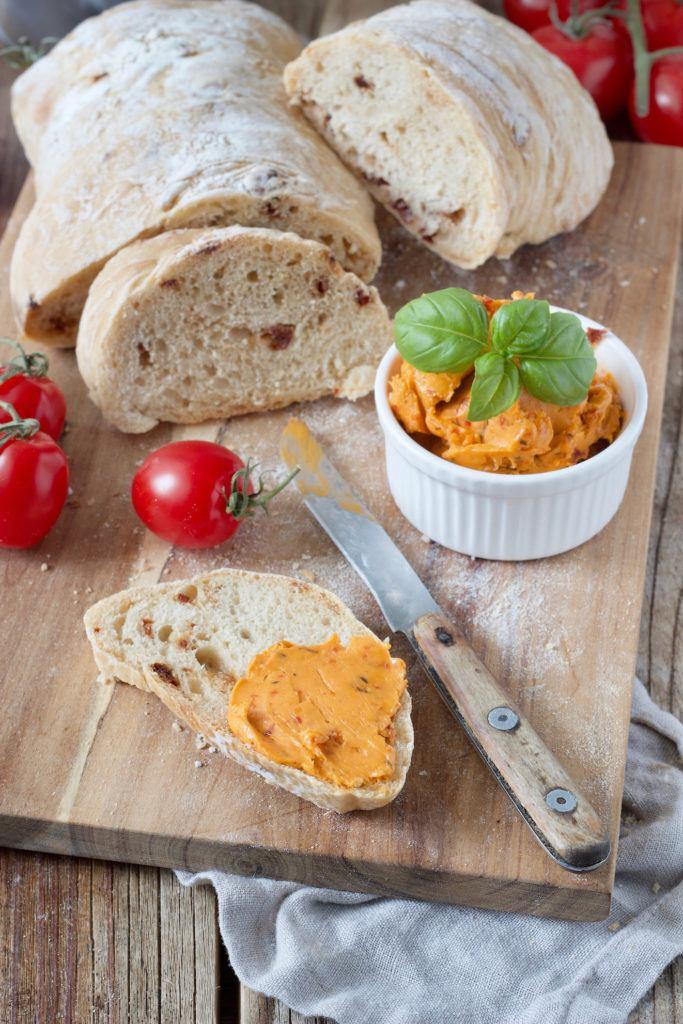 Tomatenbutter Rezept mit getrockneten Tomaten von Sweets & Lifestyle®