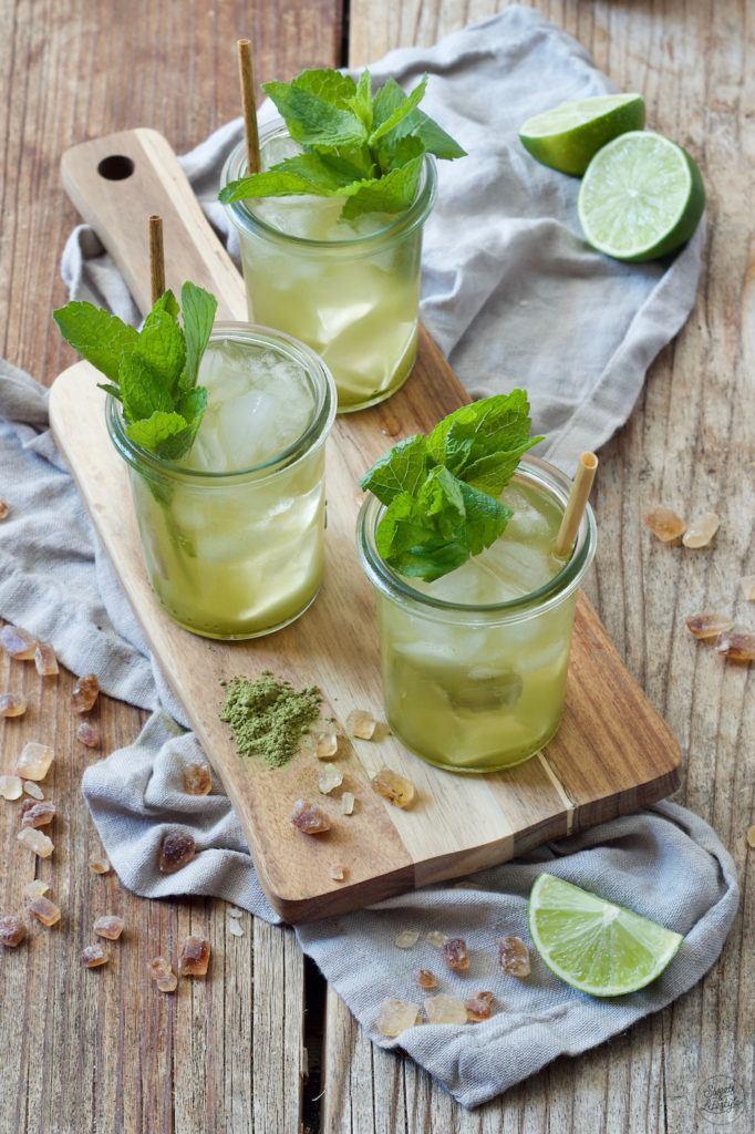 hausgemachter grüner Eistee ohne Zucker nach einem Rezept von Sweets & Lifestyle®