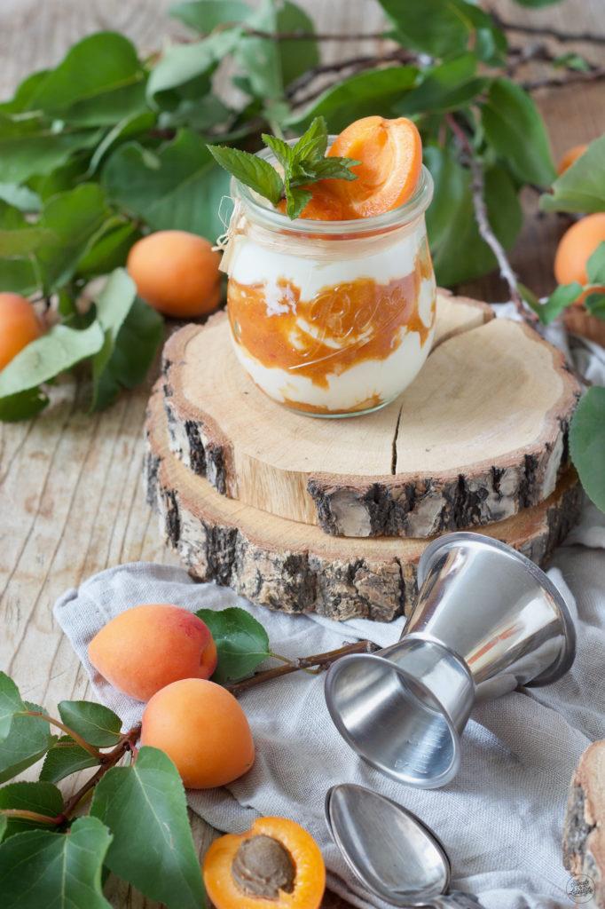 Aprikosen Tiramisu im Glas nach einem Rezept von Sweets & Lifestyle®