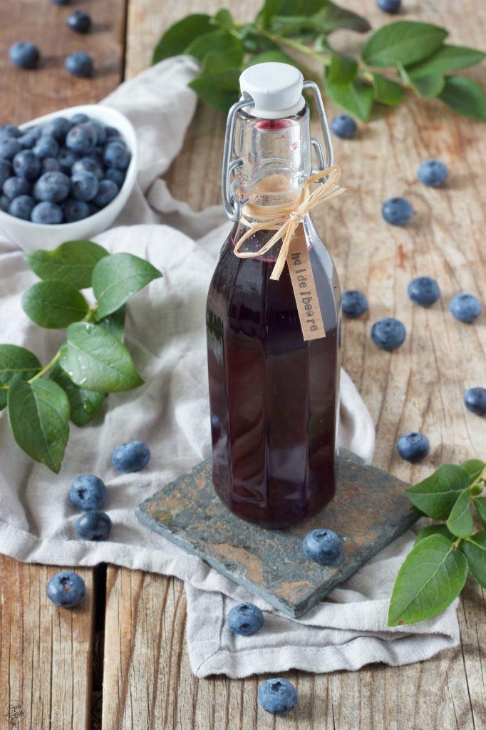 Leckeres Blaubeersirup Rezept von Sweets & Lifestyle®