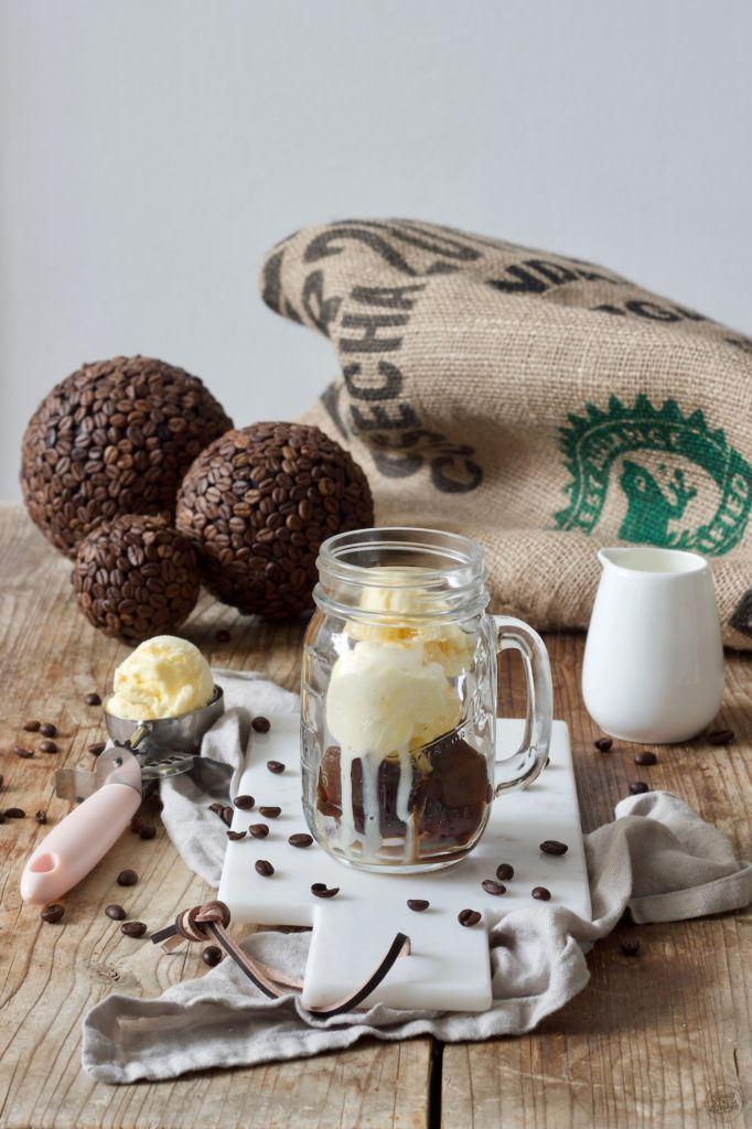 Eiskaffee mit Vanilleeis nach einem Rezept von Sweets & Lifestyle®