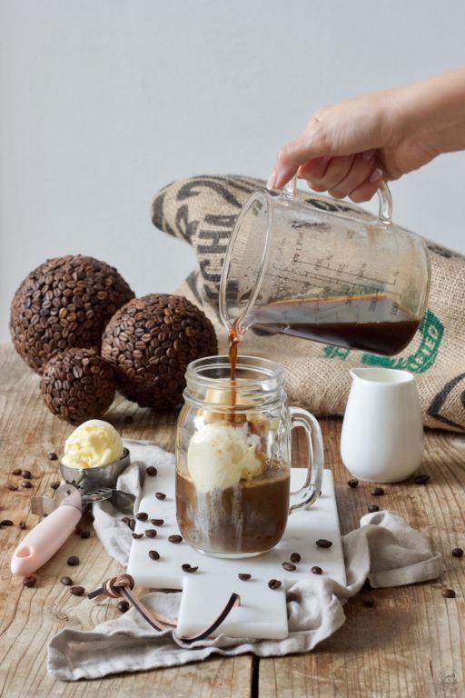 Eiskaffee mit Vanilleeis selber machen nach dem Rezept von Sweets & Lifestyle®