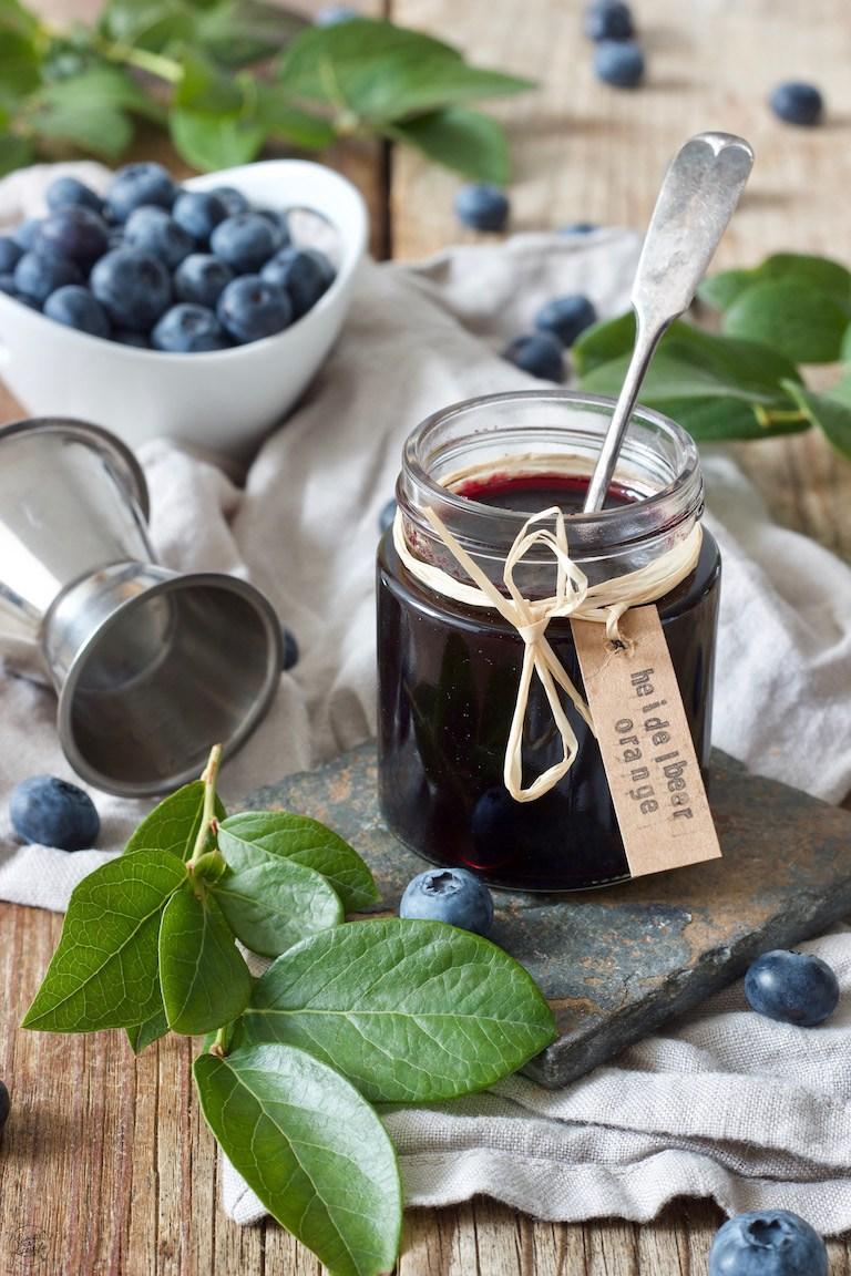 Heidelbeermarmelade mit Orangenlikör nach einem Rezept von Sweets & Lifestyle®