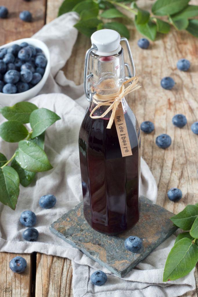 Heidelbeersirup Rezept von Sweets & Lifestyle®