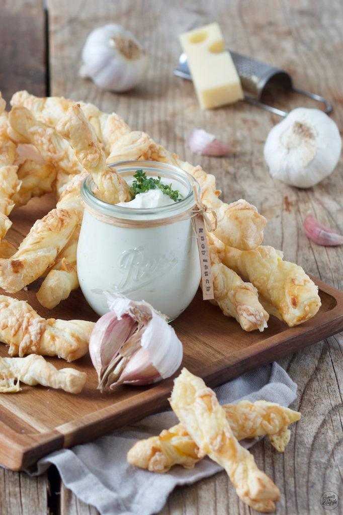 Käsestangen aus Blätterteig nach einem Rezept von Sweets & Lifestyle®