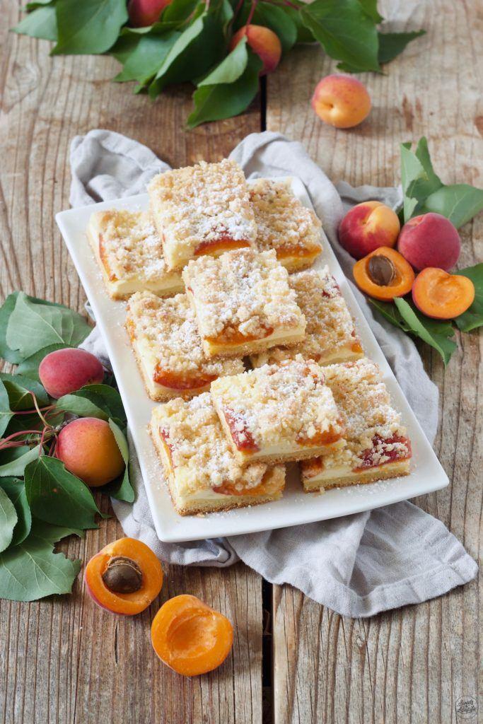 Marillen Topfenkuchen mit Streusel nach dem Rezept von Sweets & Lifestyle®