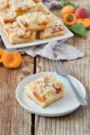 Marillen Topfenkuchen mit Streusel vom Blech nach einem Rezept von Sweets & Lifestyle®