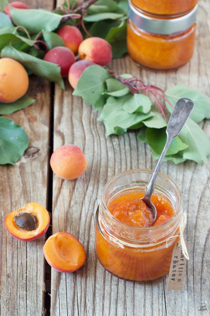 Marillenröster auch Aprikostenröster genannt nach einem Rezept von Sweets & Lifestyle®