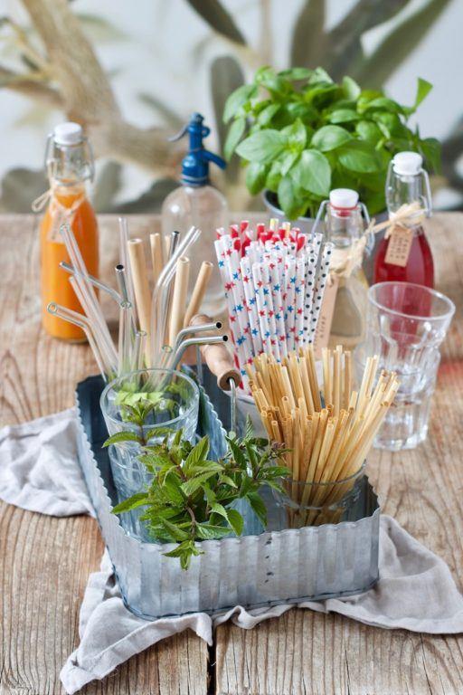 Nachhaltige Alternativen zu Plastikstrohhalmen aufgezeigt von weets & Lifestyle®