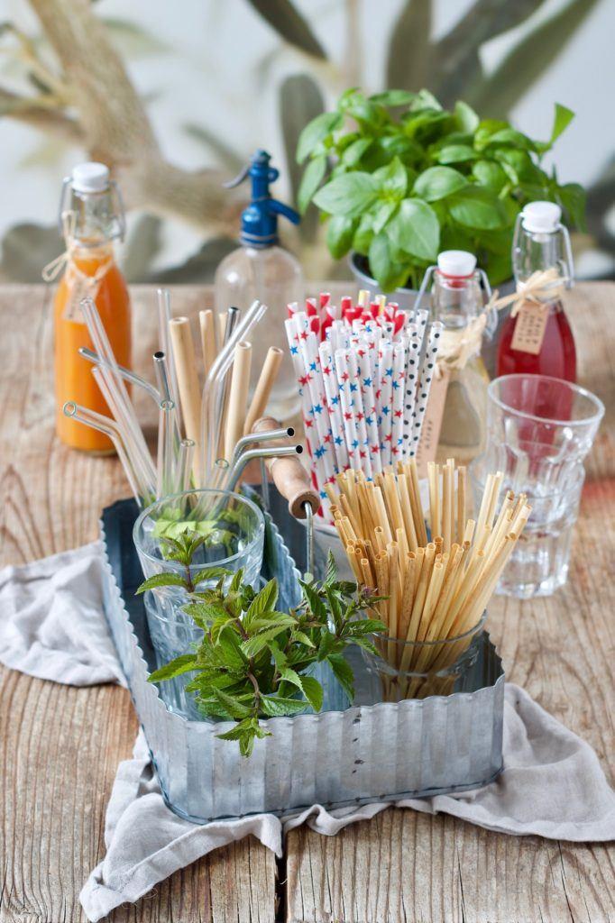Nachhaltige Alternativen zu Plastikstrohhalmen vorgestellt von Sweets & Lifestyle®