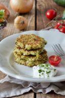 Rezept für Zucchinipuffer mit Haferflocken und Feta von Sweets & Lifestyle®