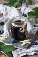 Rezept für eine Heidelbeermarmelade mit weißer Schokolade von Sweets & Lifestyle®