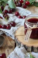 Rezept für eine Weichselmarmelade mit Amaretto von Sweets & Lifestyle®