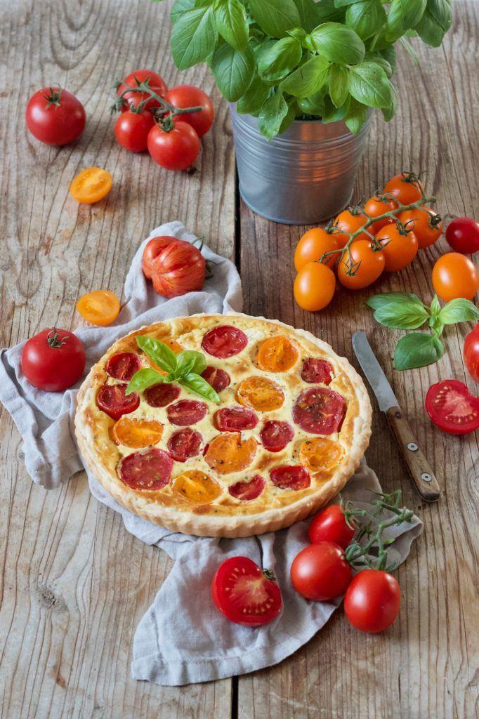 Tomaten-Quiche mit Blätterteig nach einem Rezept von Sweets & Lifestyle®
