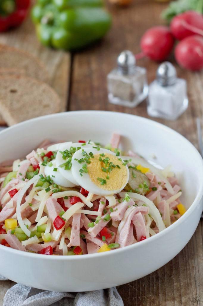 Wurstsalat selber machen nach einem Rezept von Sweets & Lifestyle®