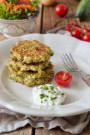 Schnelle Zucchinipuffer mit Feta nach einem Rezept von Sweets & Lifestyle®