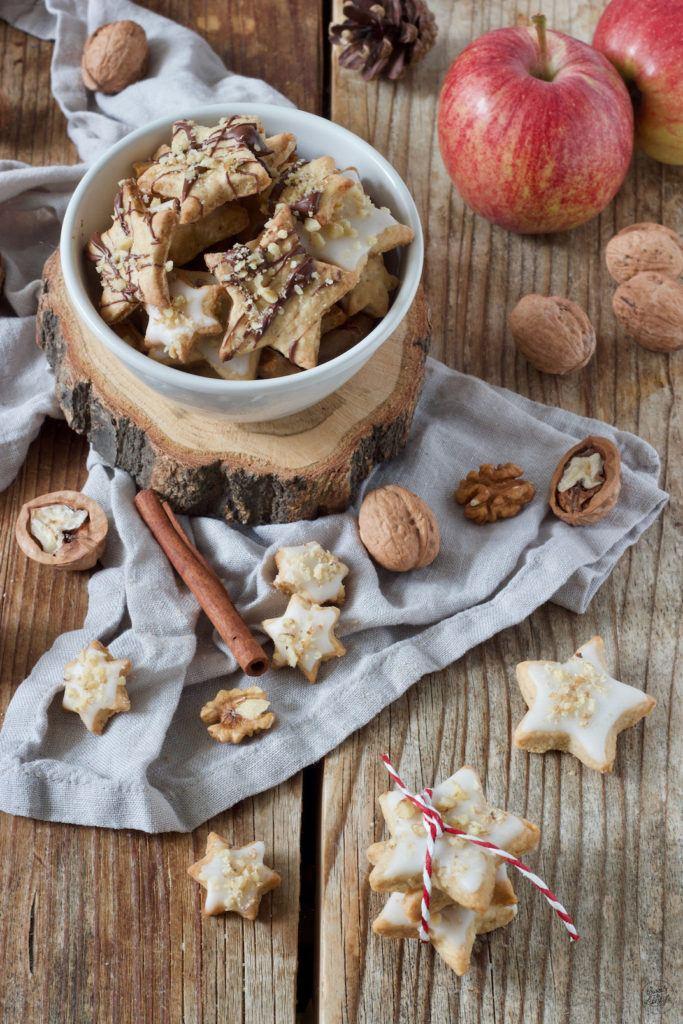Apfel-Zimt-Kekse nach einem Rezept von Sweets & Lifestyle® mit unterschiedlicher Verzierung