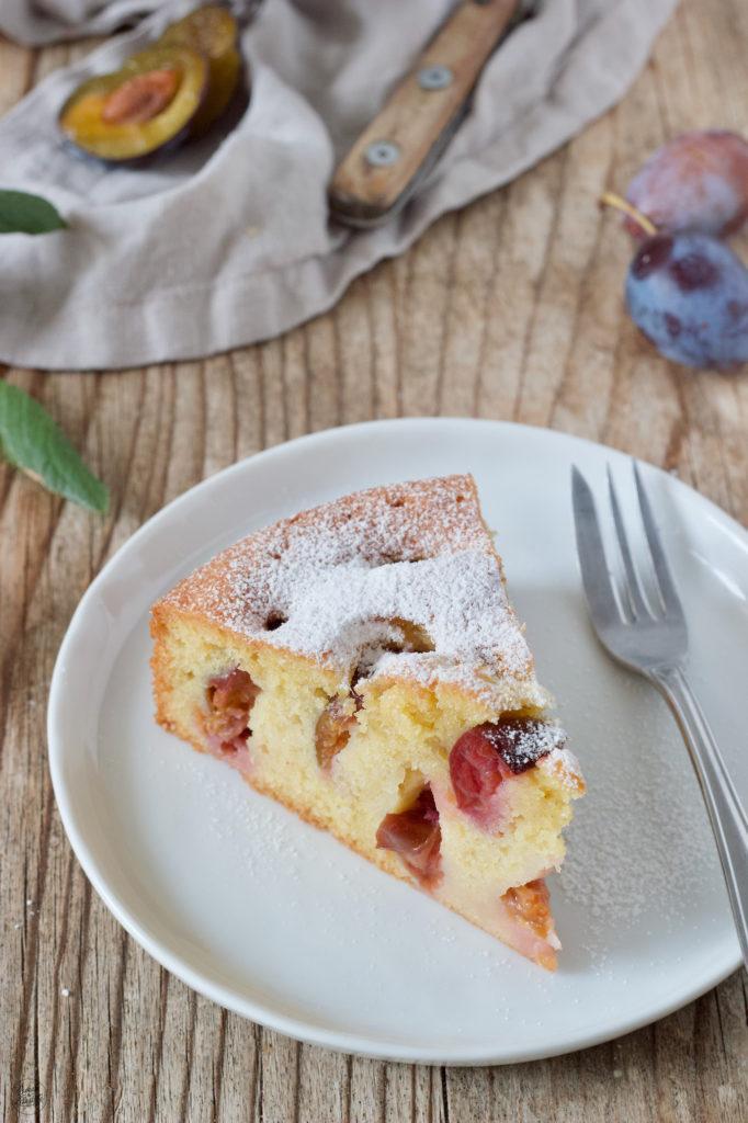 Einfachere Zwetschgenkuchen aus Rührteig nach einem Rezept von Sweets & Lifestyle®