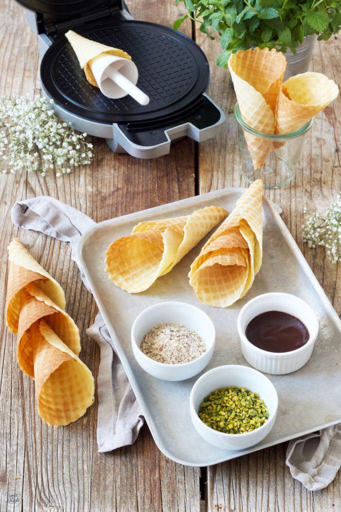 Eiswaffel selber machen nach dem Rezept von Sweets & Lifestyle®