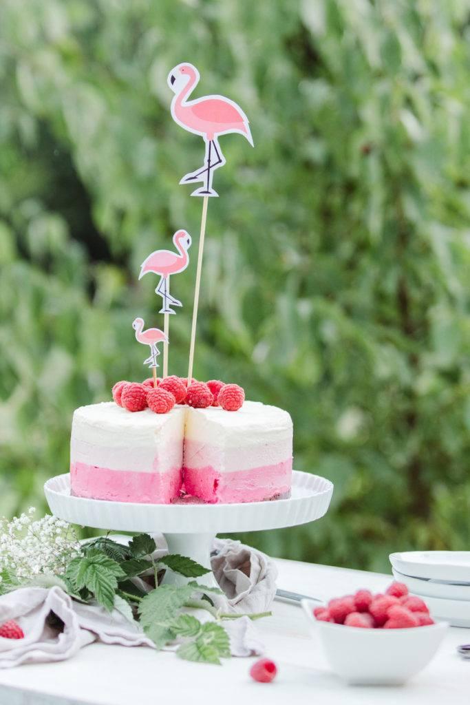Himbeer-Eistorte als Geburtstagstorte im Sommer von Sweets & Lifestyle®