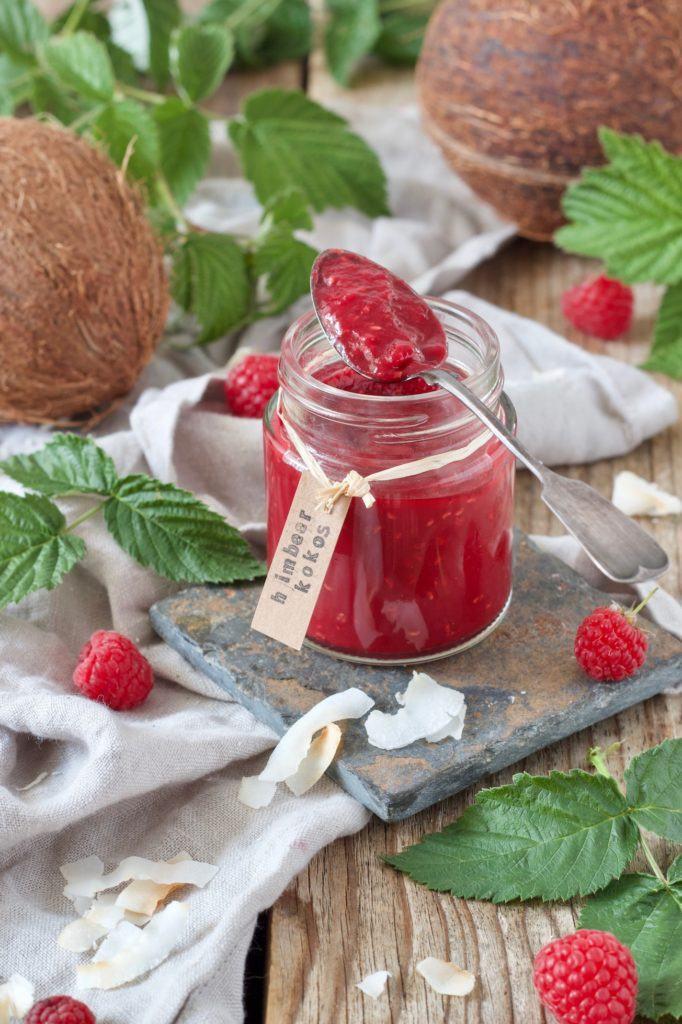 Himbeer-Kokos-Marmelade nach einem Rezept von Sweets & Lifestyle®
