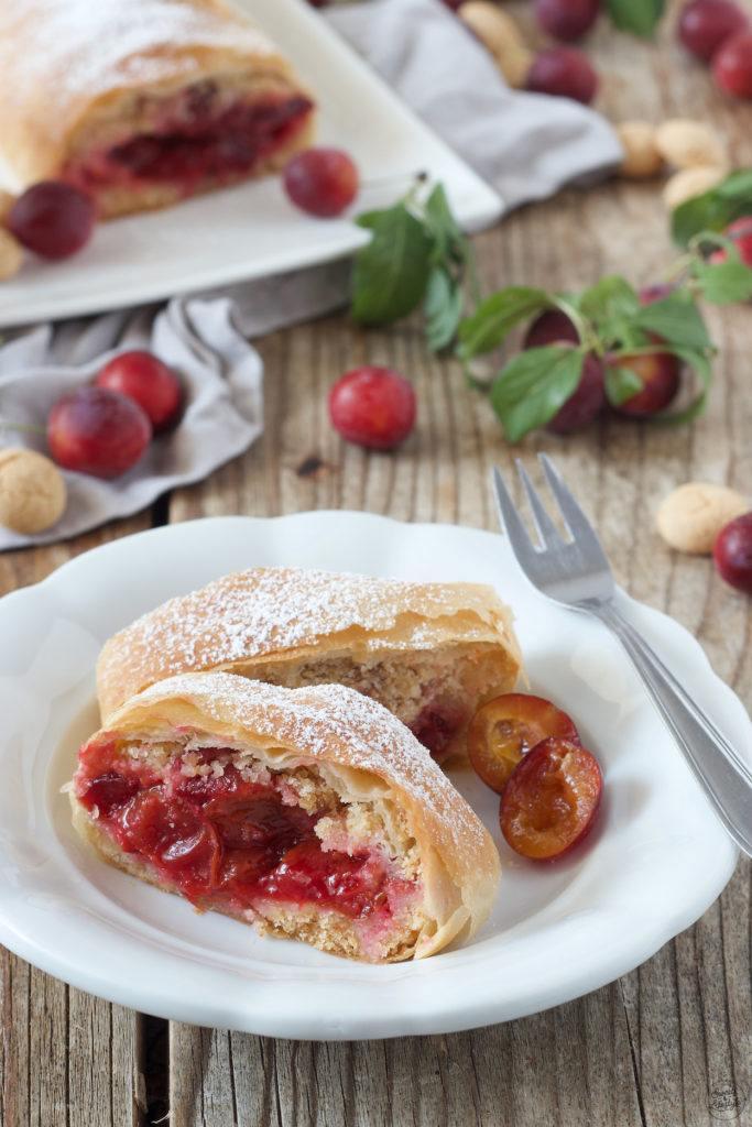 Leckerer Mirabellenstrudel nach einem Rezept von Sweets & Lifestyle®