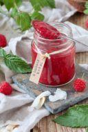 Rezept für eine Himbeermarmelade mit Kokosmilch von Sweets & Lifestyle®