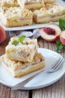 Rezept für einen Pfirsich Streuselkuchen von Sweets & Lifestyle®