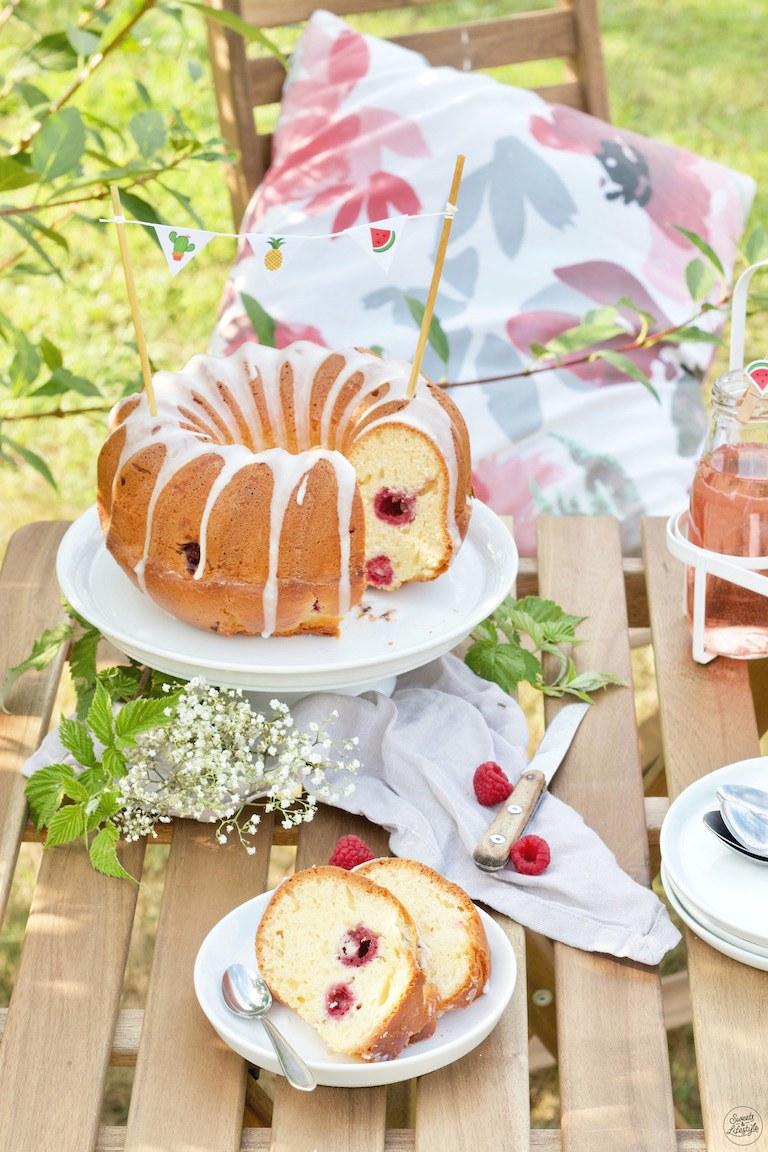 Joghurt Gugelhupf Mit Himbeeren Rezept Sweets Lifestyle