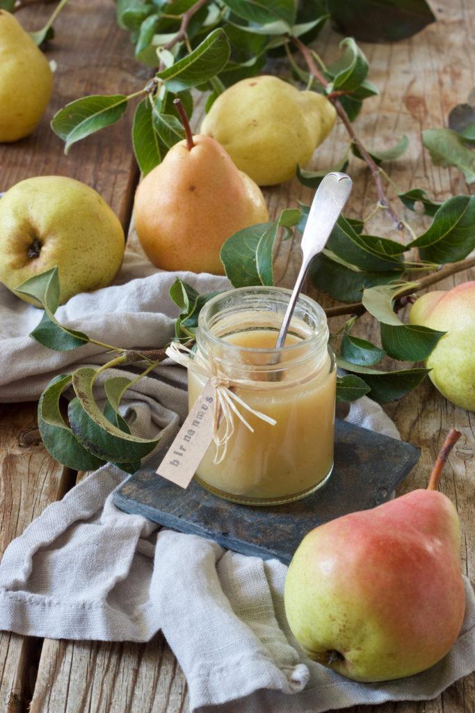 Selbst gemachtes Birnenmus nach einem Rezept von Sweets & Lifestyle®