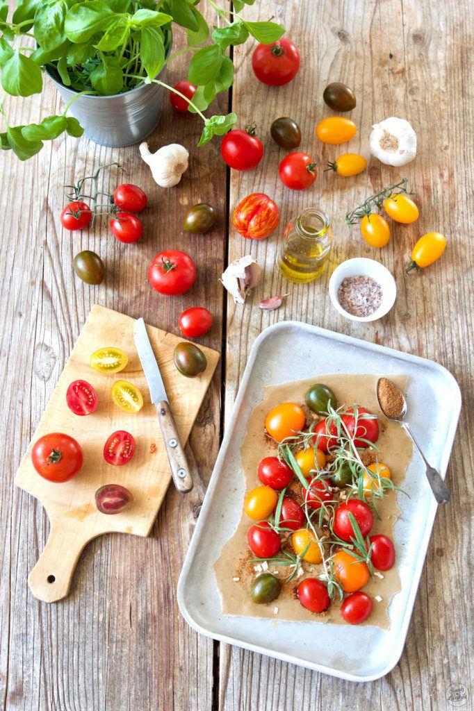 Tomaten mit Kokosblütenzucker im Ofen karamellisieren wie Verena von Sweets & Lifestyle®