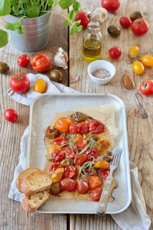 mit Kokosblütenzucker karamellisierte Tomaten aus dem Ofen von Sweets & Lifestyle®