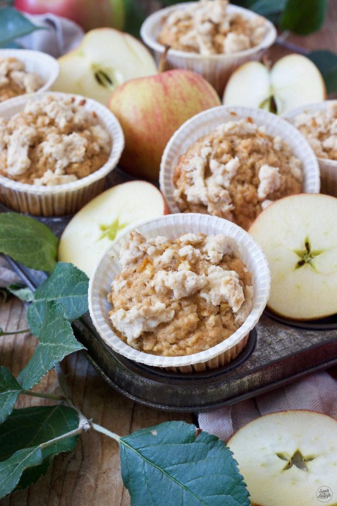 Apfel-Haferflocken-Muffins Rezept von Sweets & Lifestyle®