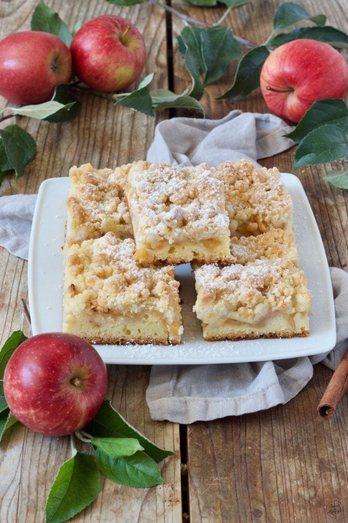 Apfel Streusel Kuchen Rezept von Sweets & Lifestyle®