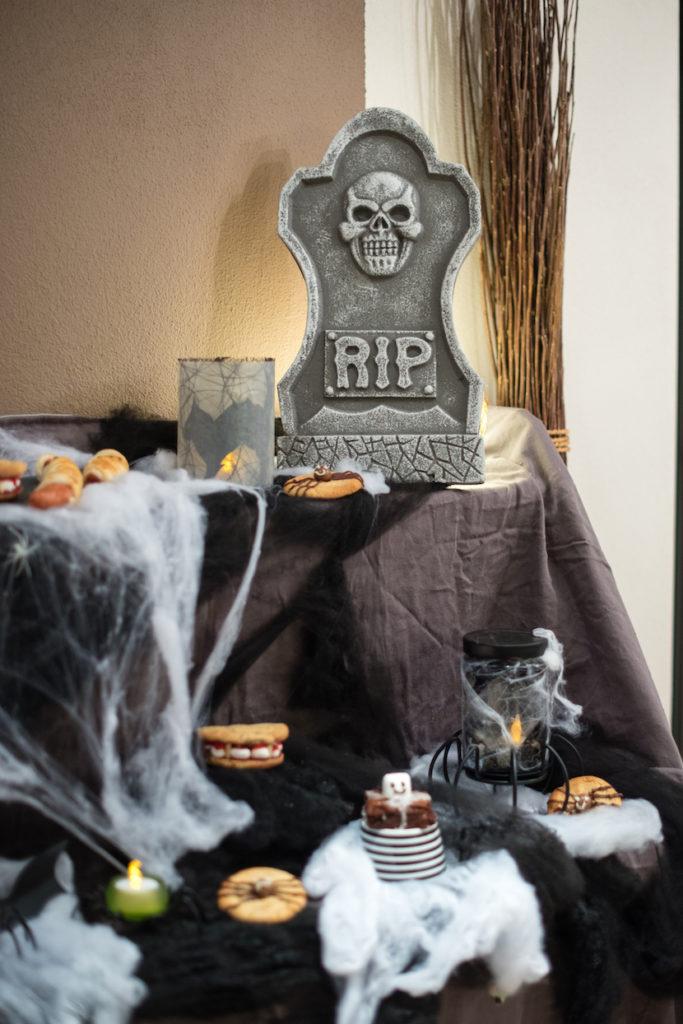 Halloween Snackideen gemacht beim Halloween Back-Workshop für Kinder von Sweets & Lifestyle®