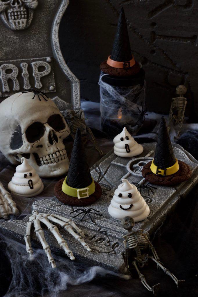 Leckere Cookies Hexenhüte für Halloween nach einem Rezept von Sweets & Lifestyle®